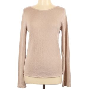 Central Park West Silk Pullover Sweater